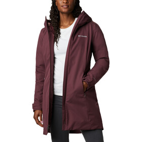 Columbia Autumn Rise Manteau long Femme, malbec